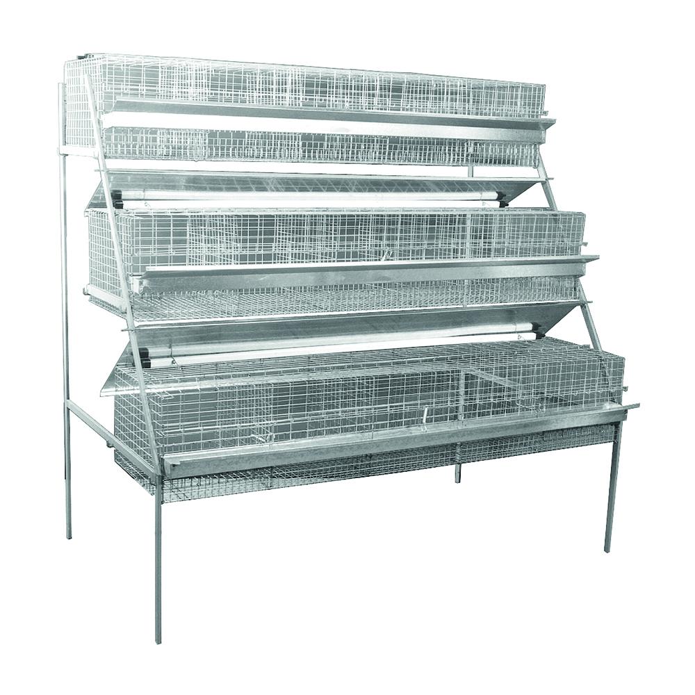 Conigliera ingrasso viridia for 3 piani di veranda stagionale