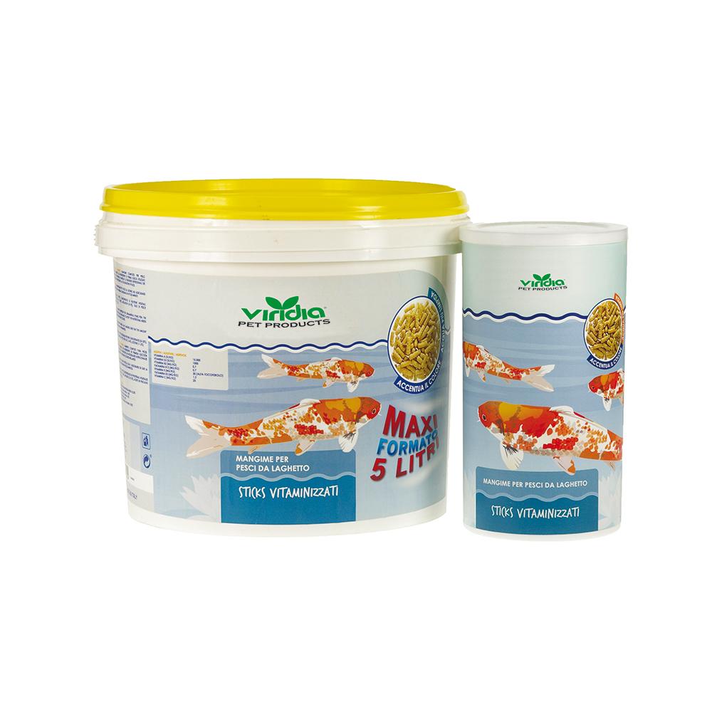 mangime per pesci da laghetto viridia